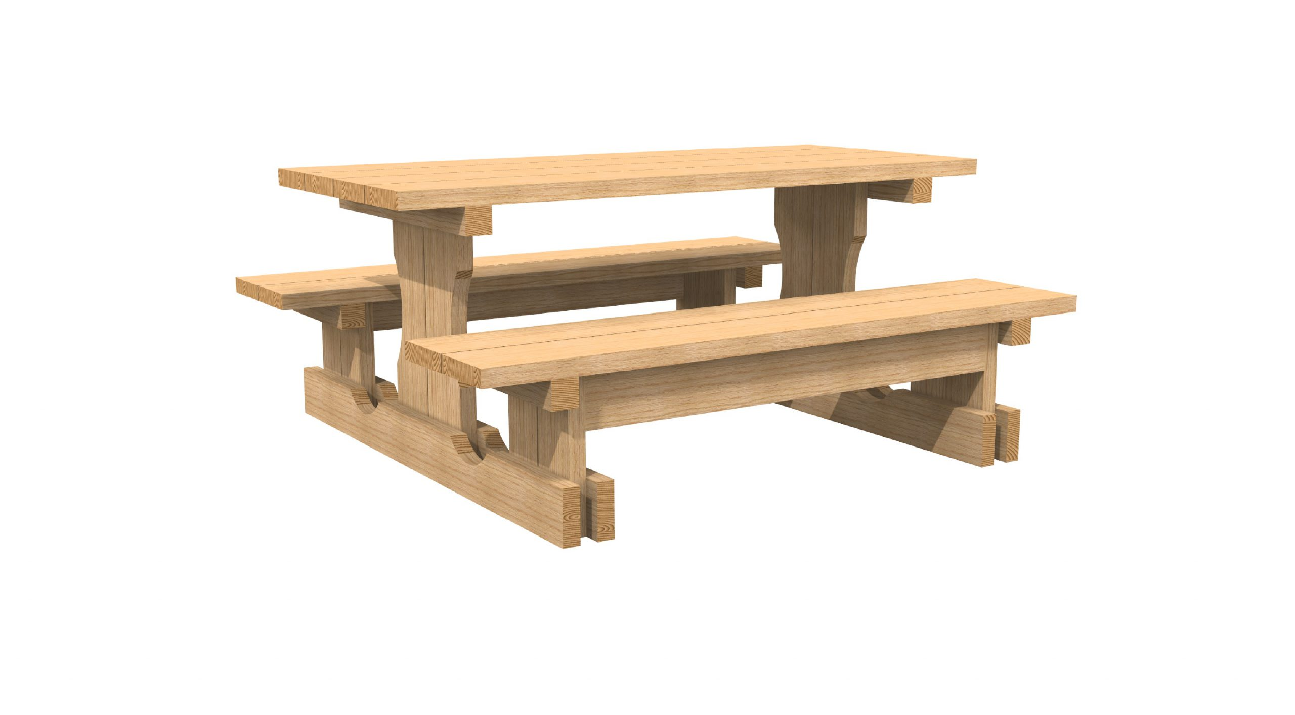 Coltman Bros Picnic table
